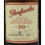 Glenfarclas 10 ans étiquette