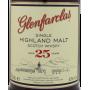 Glenfarclas 25 ans étiquette