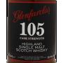 Glenfarclas 105 Cask Strength étiquette