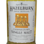 Hazelburn 8 ans Campbeltown single malt scotch whisky étiquette