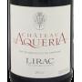 Lirac 2014 Château d'Aquéria Etiquette