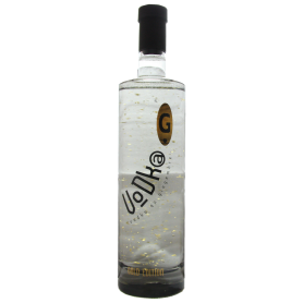 Vodka Gingembre Gold Edition avec paillette d'or Miclo