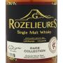 Rozelieures Rare Collection Whisky français lorrain Etiquette