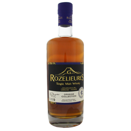 Rozelieures Origine Collection Whisky français lorrain Single Malt
