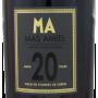 Maury 20 ans Mas Amiel Etiquette