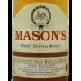 Mason's scotch whisky pas cher Etiquette