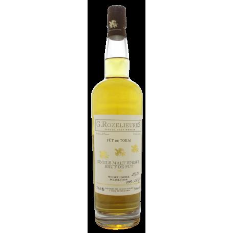 Rozelieures finition Tokay de Hongrie Whisky français, lorrain.