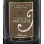 Champagne Nicolas Maillart Brut Premier Cru Millésimé 2012 Etiquette