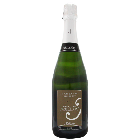 Champagne Nicolas Maillart Brut Premier Cru Millésimé 2012