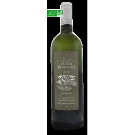 Palette blanc Quintessence 2015 Château Henri Bonnaud vin bio blanc de Provence