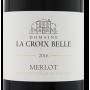 Merlot Côtes de Thongue 2016 Domaine La Croix Belle étiquette