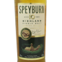 Whisky Speyburn 10 ans Etiquette