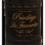 Etiquette rhum Privilège Distillerie La Favorite
