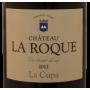 Pic Saint-Loup La Cupa 2012 Château La Roque étiquette