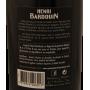 Contre étiquette Pastis HB Henri Bardouin