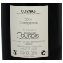 Contre étiquette Cornas 2016 Champelrose Domaine Courbis