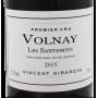 Volnay Santenots 1er Cru 2015 Vincent Girardin Bourgogne