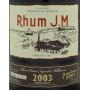 Rhum agricole JM Millésimé 2003