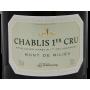 Chablis 1er Cru Mont de Milieu 2014 Chablisienne Bourgogne
