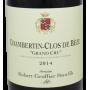 Chambertin Clos de Bèze 2014 Robert Groffier, grand vin de Bourgogne