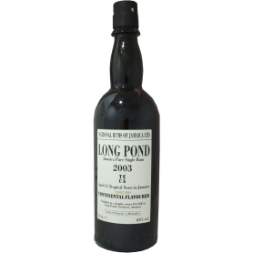 Rhum Long Pond 15 ans 2003 TECA