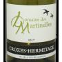 Crozes blanc 2017 Domaine des Martinelles vin du Rhône