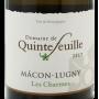 Mâcon Lugny Les Charmes Quintefeuille bon vin de Bourgogne pas cher.