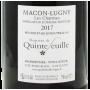 Mâcon-Lugny Les Charmes 2017 Domaine de Quintefeuille