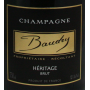 Baudry Brut Héritage Champagne de vignerons