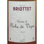 Liqueur de Pêche de Vigne Edmond Briottet