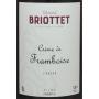 Crème de Framboise Briottet Liqueur