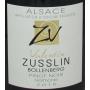 Valentin Zusslin vin bio alsace rouge Pinot Noir 2015 exceptionnel