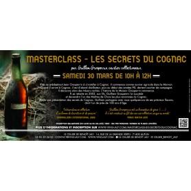 Masterclass  Les Secrets du Cognac Guilhem Grosperrin Autun