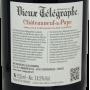 Grand vin du Rhône Grenache Châteauneuf du pape rouge 2014