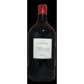 Jéroboam de Clos Fontaine 2014 en Francs Côtes de Bordeaux