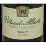 Crémant de Bourgogne bon et pas cher Vitteaut Alberti