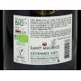 Vin rouge vegan bio Cévennes 2017 Merlot Cave Saint Maurice