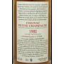 Cognac Petite Champagne 1982 Jean Grosperrin vieux rare qualité exception