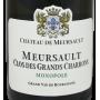 Meursault 2016 Château de Meursault Grand vin blanc de Bourgogne
