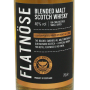 Whisky tourbé flatnose blended malt