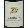 Valentin Zusslin Alsace Grand Cru Riesling Pfingstberg 2013 vin de légende