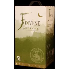 Fonvène Ardèche blanc en BIB Les Vignerons Ardéchois
