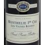 Bourgogne Rouge 2016 Domaine Pascal Prunier-Bonheur Monthélie 1er Cru Les Vignes Rondes