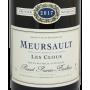 Bourgogne blanc Meursault Les Clous 2017 Prunier Bonheur