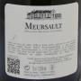 Château de Meursault 1999 toasté vin rare vieux vin blanc