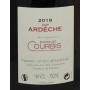 Ardèche 2018 Syrah Domaine Courbis Vin de copains