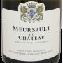 Bourgogne Meursault du Château 2017
