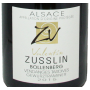 Alsace Vendanges Tardives Zusslin 2015 gewurztraminer