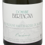 Bertagna Hautes Côtes de Nuits blanc Chardonnay 2017