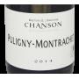 Bourgogne Puligny-Montrachet 2014 grand vin blanc